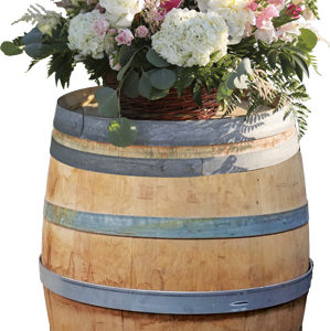 full-wine-barrel-flowers